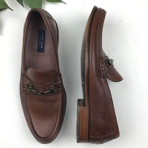 Cole Haan Men's Leather Aiden Grand Bit Loafers